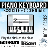 Theory Experts: Keyboard Identification Bass Clef Accident