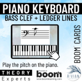 Theory Masters: Keyboard Identification Bass Clef Ledger L