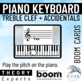 Theory Experts: Keyboard Identification Treble Clef Accide