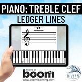 Theory Experts: Keyboard Identification Treble Clef Ledger