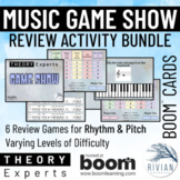 Theory Masters: Music Theory Game Show Activity Boom Cards