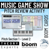Theory Masters: Music Theory Game Show Activity - Pitch Le