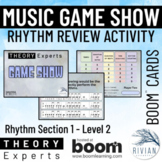 Theory Masters: Music Theory Game Show Activity - Rhythm L