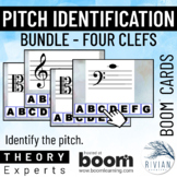 Theory Masters: Pitch Identification Boom Deck BUNDLE