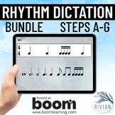 Theory Masters: Rhythm Dictation Boom Cards™ BUNDLE