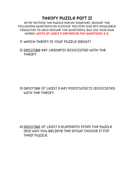 Theory Puzzle