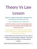 Theory Vs Law