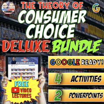 Theory of Consumer Choice Deluxe Bundle - PowerPoint Version (PC USERS ONLY)