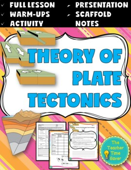 Tectonic Plates Lesson (PowerPoint, notes, and activity)