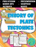 Plate Tectonics Free Lesson- Printable Notes, Presentation, Warm-ups, & Activity