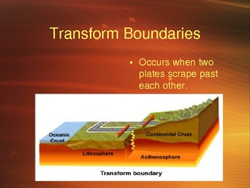 Theory of Plate Tectonics Power Point