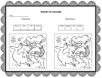 Theory of colours (Spanish and English)