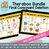 Theraboo Final Consonant Deletion Bundle: No Print Cariboo for Speech Therapy