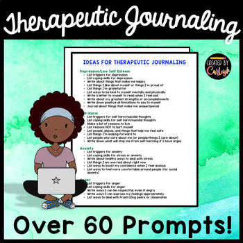 Journal Prompts for Counseling