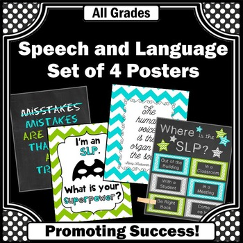 Speech and Language Pathologist SLP Therapy Office Door Si