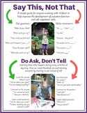 Say This, Not That- Ideas to guide executive function development