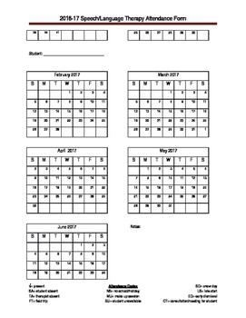 Attendance Sheet 2016-17