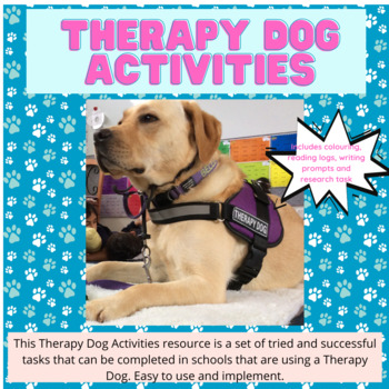 Therapy Dog Activities