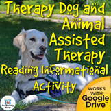 Therapy Dog Reading Informational Activity Distance Learning