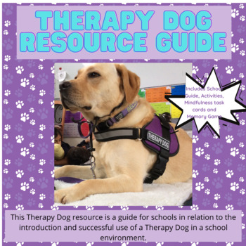Therapy Dog Resource Guide.