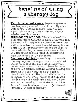 Therapy Dog Resource Guide