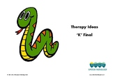 Therapy Ideas for 'K' Final