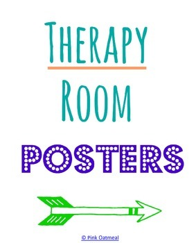 Therapy Room Printables