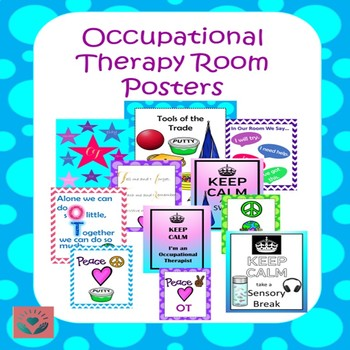 Therapy Room Posters