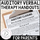 Therapy Strategies for Children with Hearing Loss