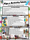 """Therapy Tips & Activity Ideas to Prevent the """"Summer Slide"""""""
