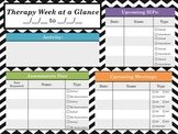 Therapy Week at a Glance
