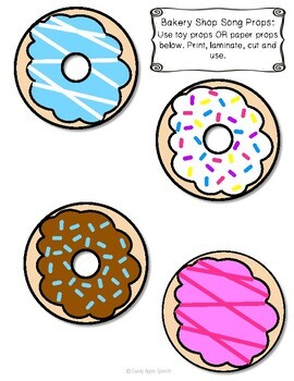 Donut Speech Therapy Activity Pack: Therapy Win in the Dollar Bin