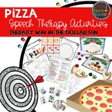 Pizza Speech Therapy Activities: Therapy Win in the Dollar Bin