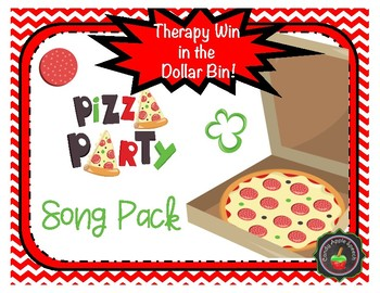 Therapy Win in the Dollar Bin Pizza Theme Song Prop Pack