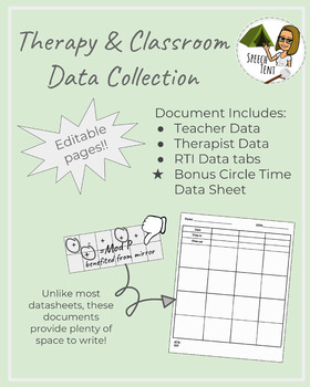 Therapy and Classroom Data