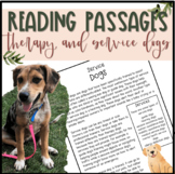 Therapy and Service Dogs Differentiated Reading Passages #DollarDeal
