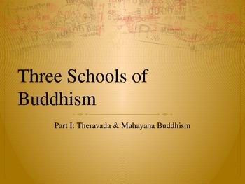 Theravada & Mahayana Buddhism