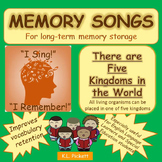 There Are Five Kingdoms in the World - A Science Memory Song