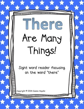"""There Are Many Things!"" Digraph th Sight Word Reader Book"