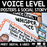 Social Story Voice Level Print Digital Video For Distance Learning