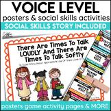 Social Story Voice Level Print Digital Video