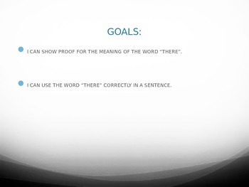 There Grammar Power Point with Formative Assessment