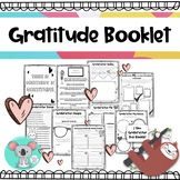 Gratitude Booklet: Being Thankful Worksheets And Activities With Journal Starter