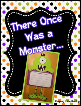 There Once Was a Monster {Craftivity}