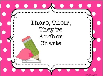 Anchor Charts: There, Their, They're