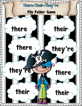 Free Printable: Homophones (They're, Their, There ...