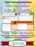 There, Their, and They're Activity and Lesson Bundle