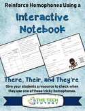 There, Their, and They're Interactive Notebook Pages