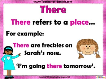 There, Their and They're Teaching Resource
