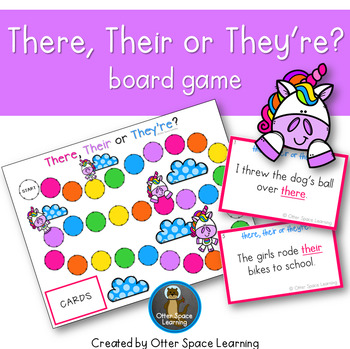 There, Their or They're? Board Game